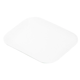 Waxed Lids for Small Foil Takeaway Containers (Pack of 1000)