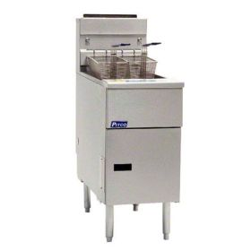 Pitco Solstice LPG Gas Fryer Twin Tank SG14TS-LPG