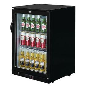 Polar GL001 - Bar / Bottle Cooler - Single Door, Black, LED