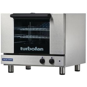 Blue Seal Turbofan E22M3 - Electric Convection Oven 3 x 1/2 GN