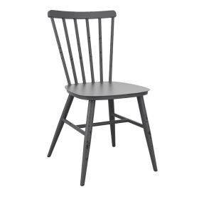 SPIN Dark Grey Rustic / Retro Chair Indoor & Outdoor – ZA.670C