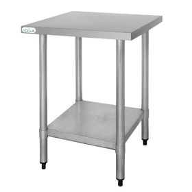 Vogue Stainless Steel Prep Table - T389 -900(H) x 600(W) x 600(D)mm