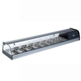 """Roller Grill TPR80 """"TAPAS"""" Display Cabinet4"""