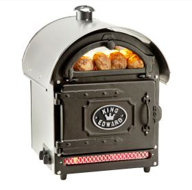 King Edward PB1FV/SS Potato Baker Oven - Traditional Stainless Steel F455-SS