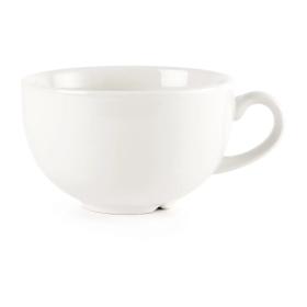 Churchill Plain Whiteware Cappuccino Cups 340ml (Pack of 24)