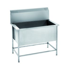 Parry USINK600 Stainless Steel Utility / Healthcare Sink 600mm W