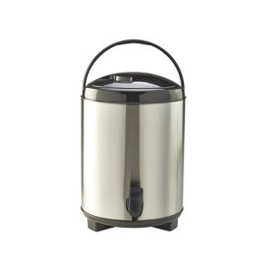 11L Insulated Stainless Steel Beverage Dispenser - Genware