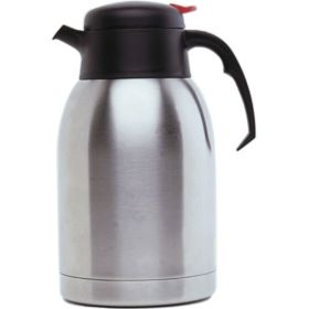 Stainless Steel Vacuum Push Button Jug 2.0L - Genware