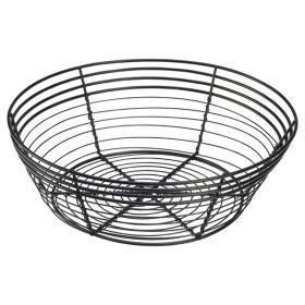 Wire Basket Round 25.5 x 8cm - Genware