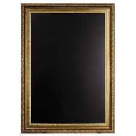 Gold Frame Chalk Board 85 X 65cm - Genware