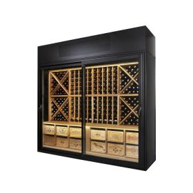 The Wine Wall – With Solid Oak Racking - Bespoke