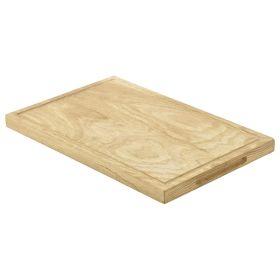 Oak Wood Serving Board 34x22x2cm - Genware