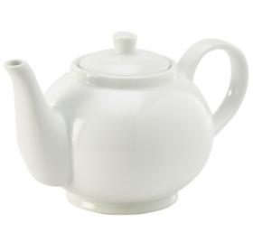 Royal Genware White Teapot 45cl - 393945
