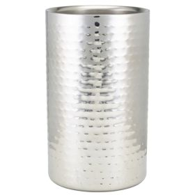GenWare Hammered Stainless Steel Wine Cooler 003H