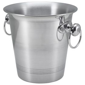 Aluminium Wine Cooler Bucket With Ring Hdls  3.25Ltr - Genware 004