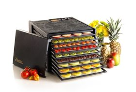 Excalibur FPTH0152 9 Tray Food Dehydrator With Timer