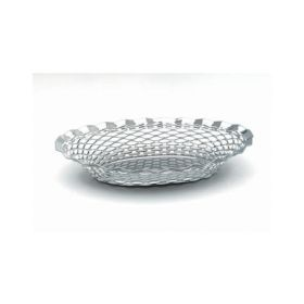 "Stainless Steel Oval Basket 9.1/2""X7"" - Genware"