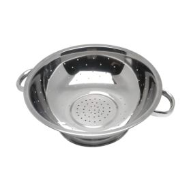 """Economy Stainless Steel Colander 13""""Tube Hdl  - Genware"""