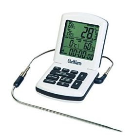 ETI ChefAlarm 810-04 - Cooking Thermometer & Timer White