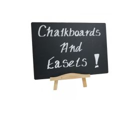 A5 Table Top Chalkboard with Easel - Mileta AB115