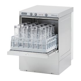 Maidaid Amika AMH40D - Glasswasher - 390 x 390mm With Drain Pump