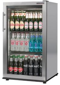 Autonumis Popular RFC00008 Stainless Steel Single Door Bottle Cooler