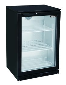 Blizzard BAR1 Single Door Bottle Cooler - Black
