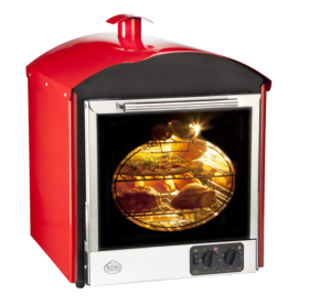 King Edward BKS Bake King Solo - Convection Oven - Red