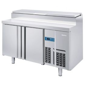 Infrico BMPP1500EN Refrigerated Prep Counter Raised Collar for Gastronorms