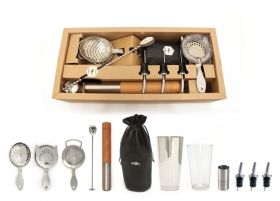 Bonzer Heritage Cocktail Bar Kit 12 Pieces - BSBQ0686 / 12578-01