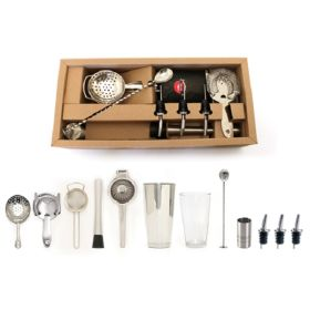 Bonzer Premium Cocktail Bar Kit 13 Pieces - 12566-01