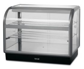 Lincat C6A/100B Seal 650 - Curved Ambient Display Merchandiser - Back Service