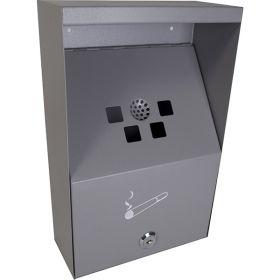 Wall Cigarette Bin  (Keys Inside)