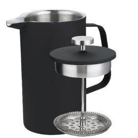 Sunnex Matte Black Cafetiere 350ml / 12.5oz - 3/4 Cup