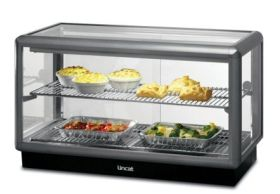 Lincat D5H/100B Seal 500 - Heated Merchandiser 1000mm Wide - Back Service