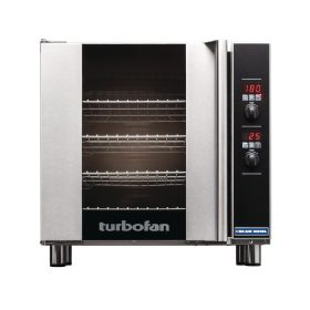 Blue Seal Turbofan E32D4 - Electric Convection Oven 4 Tray Digital