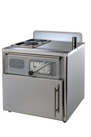 King Edward Compact Stainless Potato Baker Oven Stainless Steel - COMPSS