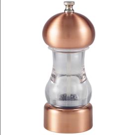 Copper & Acrylic Salt/Pepper Grinder 14cm