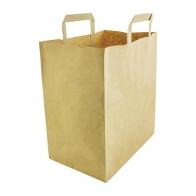 Vegware Compostable Large Recycled Paper Bags DW628
