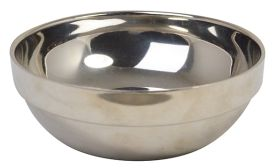 Stainless Steel Double Walled Bowl 16cm 17.5oz