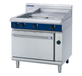 Blue Seal E56B - Electric Range with Convection Oven & 600mm Griddle W900 mm