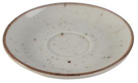 Orion Elements Sandstorm Grey Saucer 14cm EL11SA (For Coffee Cup EL10SA)