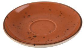 Orion Elements Sun Burst Orange Saucer 14cm EL11SB (For Coffee Cup EL10SB)