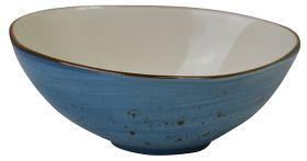Orion Elements Rustic Shaped Bowl Ocean Blue - EL23OM