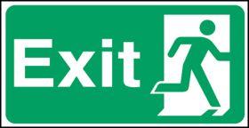 Exit man right. 150x300mm F/P