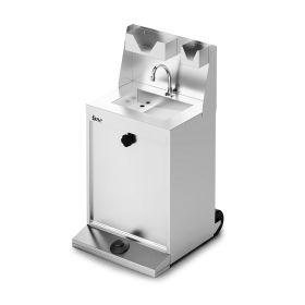 Lincat IMC F63/700 - Junior Reduced Height Mobile Hand Wash - inc. S/back, Soap & Towel