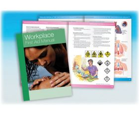 Workplace First Aid Manual A5 Size