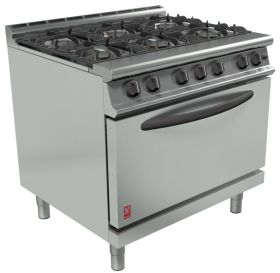 Falcon Dominator Plus G3101D Commercial Gas Range 6 Burner - LPG Gas