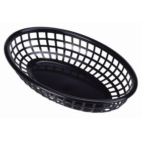 Fast Food Basket Black 23.5 x 15.4cm - Genware
