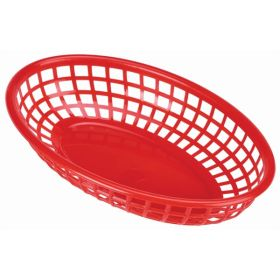 Fast Food Basket Red 23.5 x 15.4cm - Genware